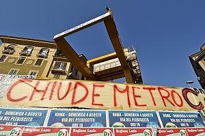 Tremila lettere di licenziamento, chiusi i cantieri di Metro C. Marino allarga le braccia