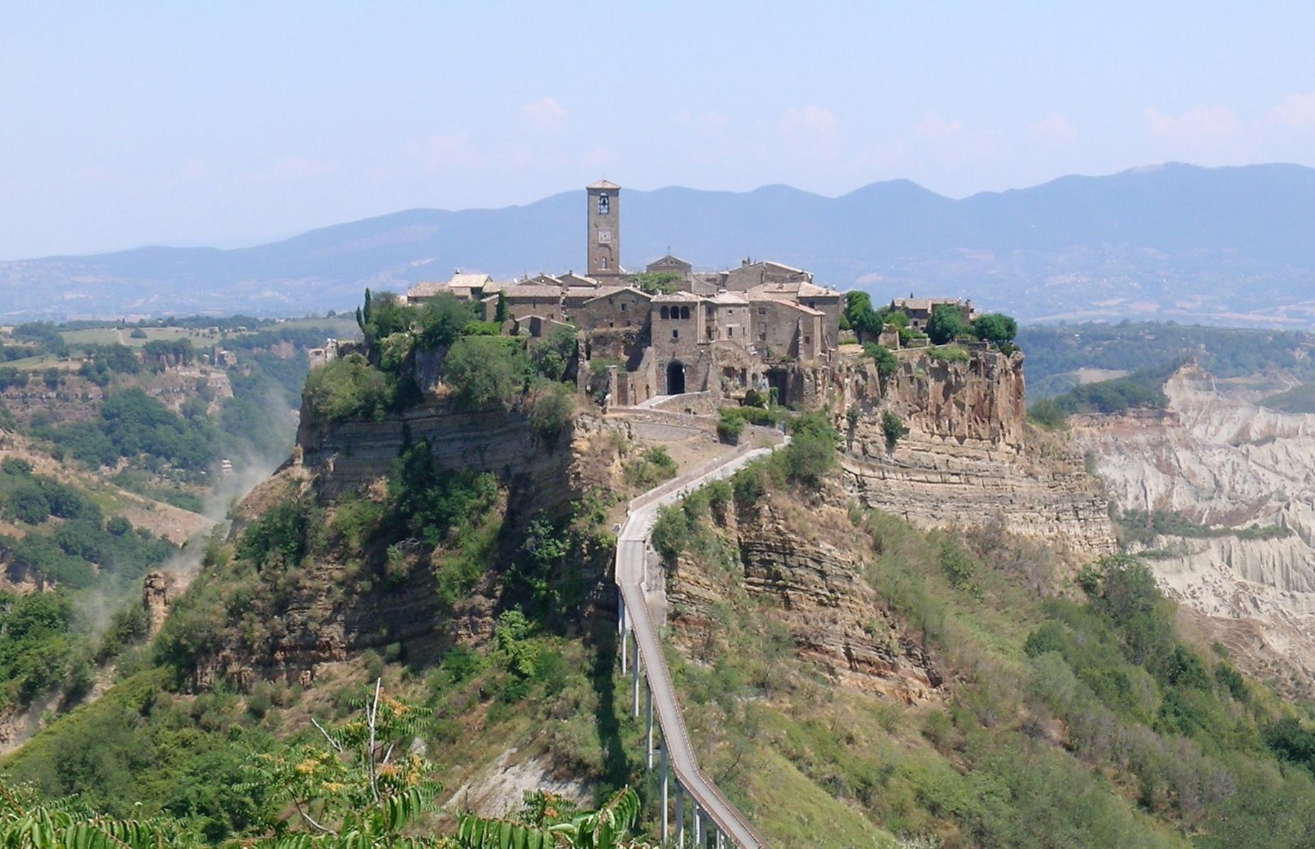 Civita di Bagnoregio nella top ten dei borghi italiani