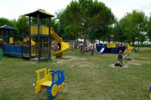 Il parco giochi di Fregene