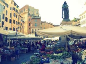 Il mercato rionale di Campo de Fiori