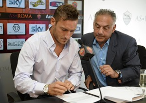 Roma-Totti, accordo fatto. Insieme altri due anni