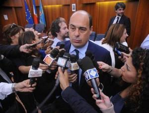 Il presidente della Regione Nicola Zingaretti (Foto Omniroma)