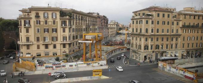 Metro C, il Campidoglio paga i 230 milioni e proseguono i cantieri