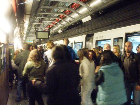 Metro A, black out a Termini. Riaperta la fermata
