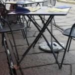 Tavolino selvaggio, blitz dei vigili in centro: 3 i denunciati
