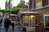 """Roma si colora d'arte fino a domani con la mostra """"Cento pittori in Via Margutta"""""""