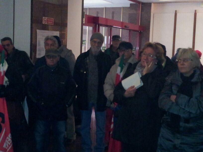 Alla ASL Roma D si protesta contro lo smantellamento del Poliambulatorio
