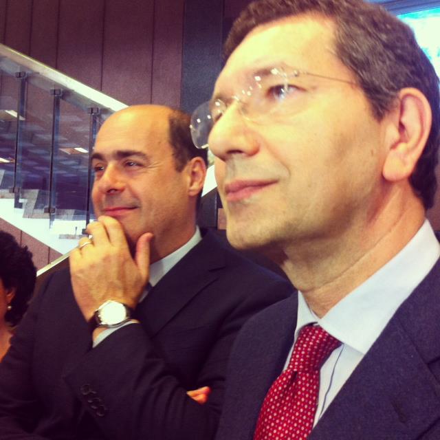 Marino-Zingaretti, incontro riservato in Campidoglio: il punto sul 2015 al centro della discussione
