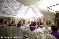 Da gennaio le parrocchie romane potranno partecipare alle Messe del Papa a Santa Marta