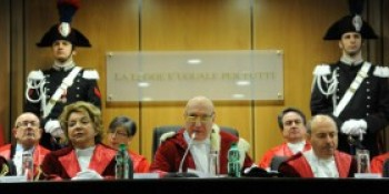 Inaugurazione dell'anno giudiziario a Roma. Omicidi e rapine. Capitale pericolosa, attrae la mafia