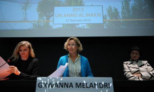 Maxxi, Melandri: