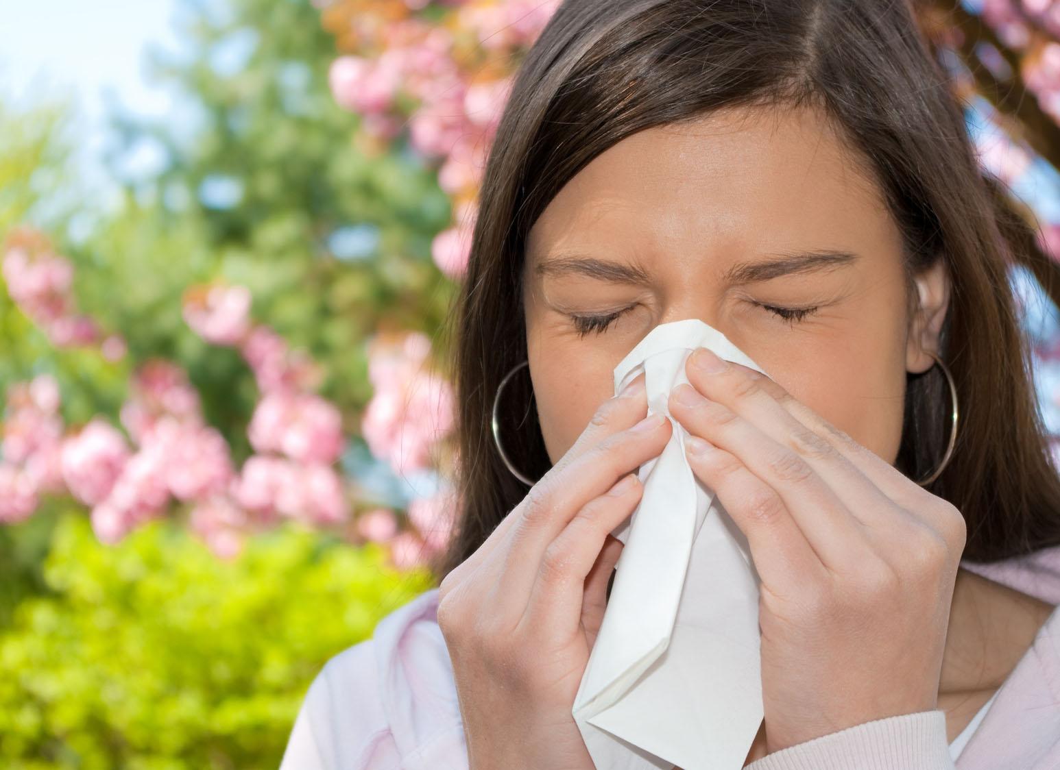 Omeopatia e allergie di stagione