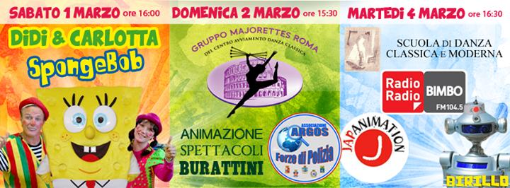 Carnevale e animazione all'Oasi Park di Roma