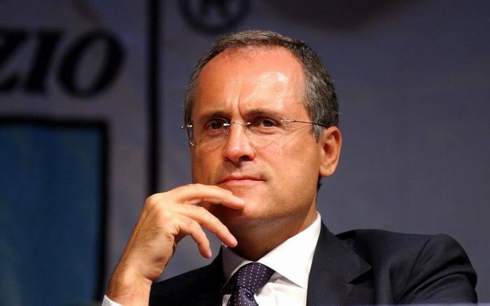 Lazio, l'appello di Lotito ai tifosi: