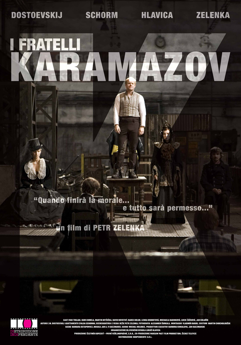 Sesta settimana di programmazione per il film I FRATELLI KARAMAZOV del pluripremiato regista ceco Pe...