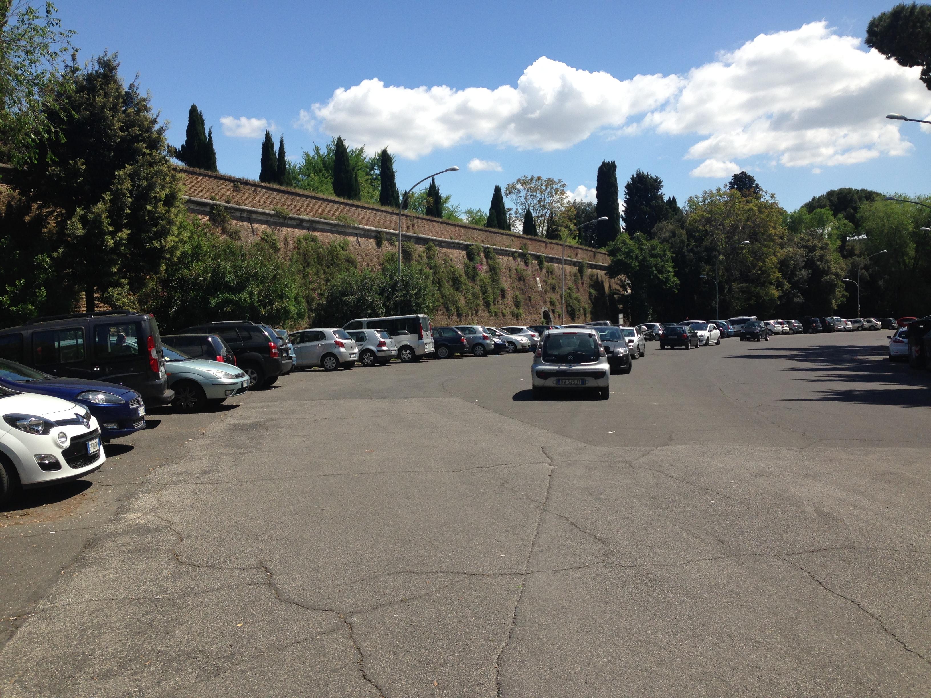 Rimosse le roulotte dalle Mura Gianicolensi
