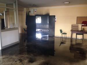 Magliana. Incendio scuola Quartararo