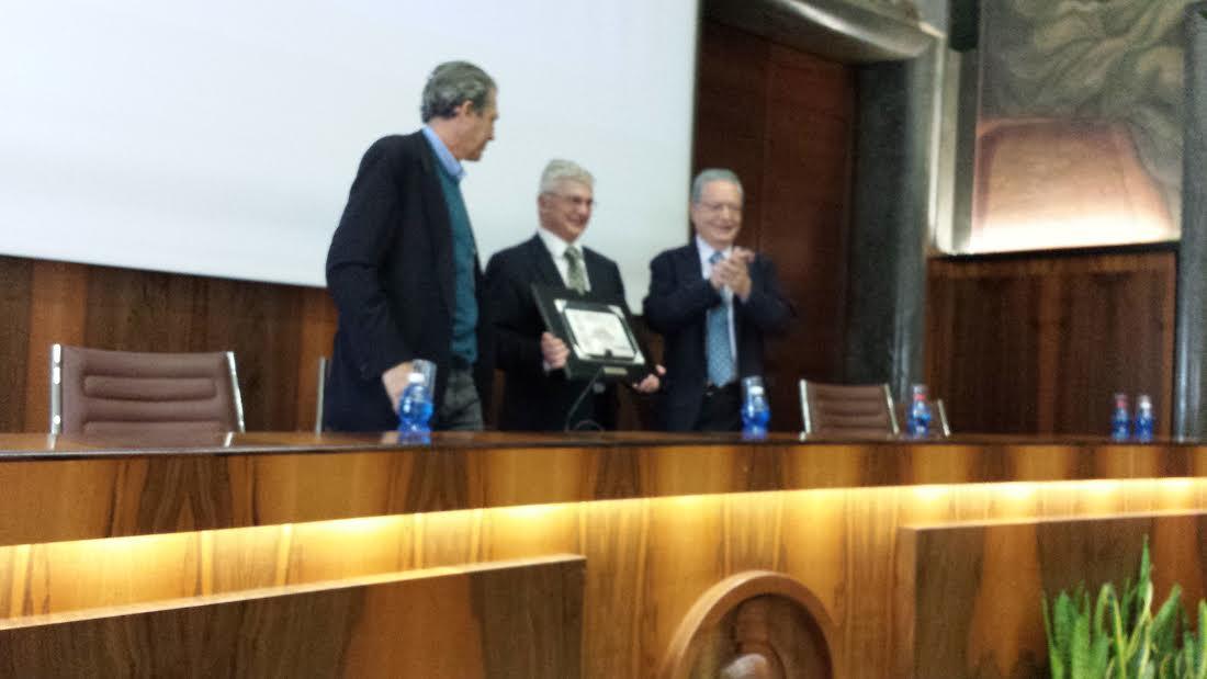 Conferimento dell'Alkmeon International Prize al Prof. Napoleone Ferrara