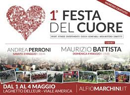 """EUR/ Alfio Marchini chiude la prima """"festa del cuore"""". A seguire il comico Maurizio Battista"""