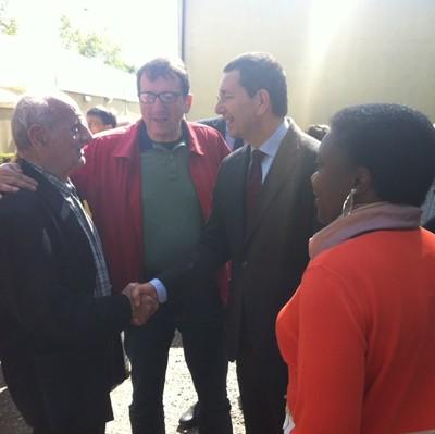 E Marino dov'era? A Modena in bici per sostenere il candidato Pd Muzzarelli