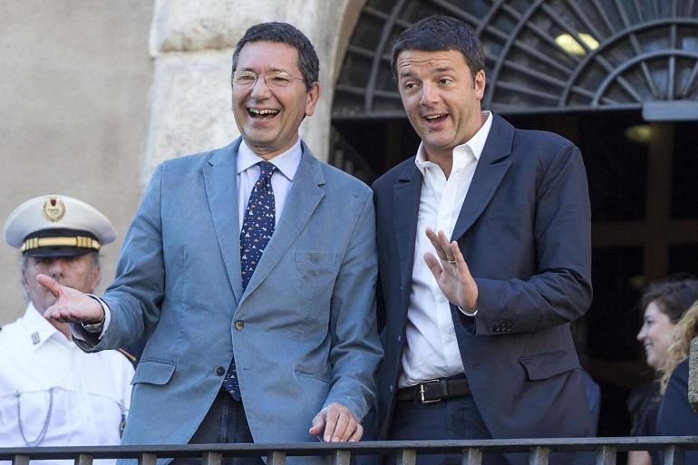 Marino imita Renzi: via i gufi e incontro con gli eletti ma senza il Pd