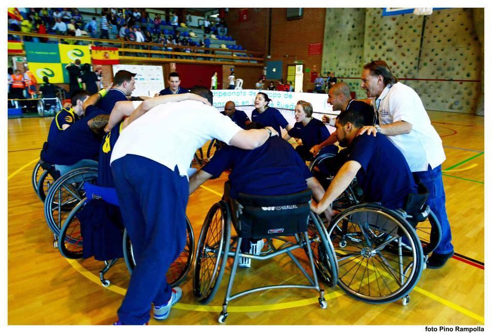 Al Santa Lucia la finale scudetto di Basket in carrozzina