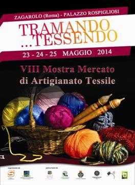 """""""Tramando… tessendo"""", l'ottava edizione del mercato artigianale tessile al Palazzo Rospigliosi di Za..."""