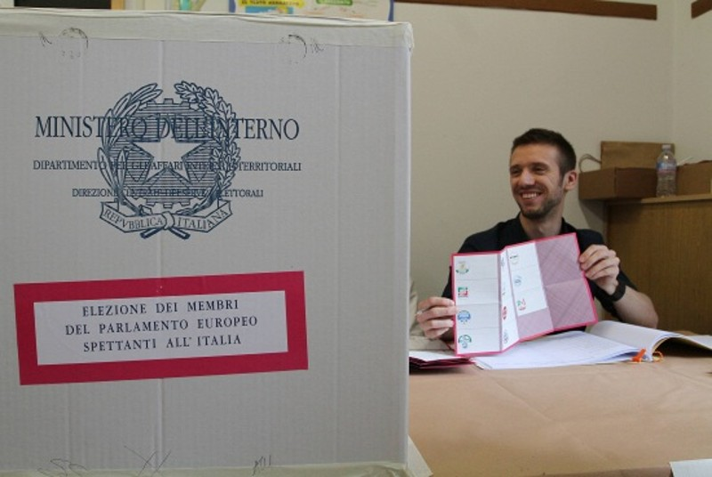 """EUROPEE/ A Roma tra successo Pd e frenata M5S la Lega """"decuplica"""""""