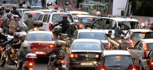 Traffico, Roma resta nel podio delle peggiori d'Italia