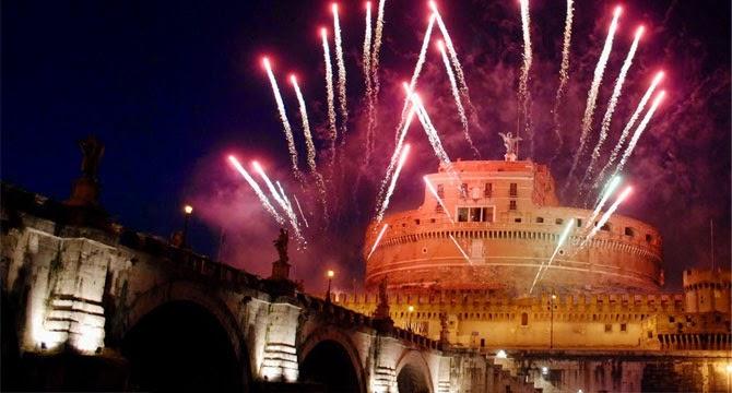 Torna la Girandola a Castel S. Angelo per la festa de SS. Pietro e Paolo