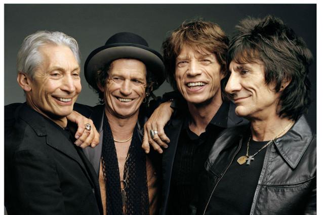 Rolling Stones a spasso per Roma in attesa del concerto di domani