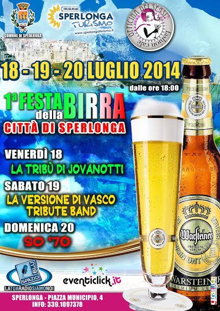 A Sperlonga la 1° Festa della Birra