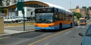 Roma - Un bus della Roma Tpl