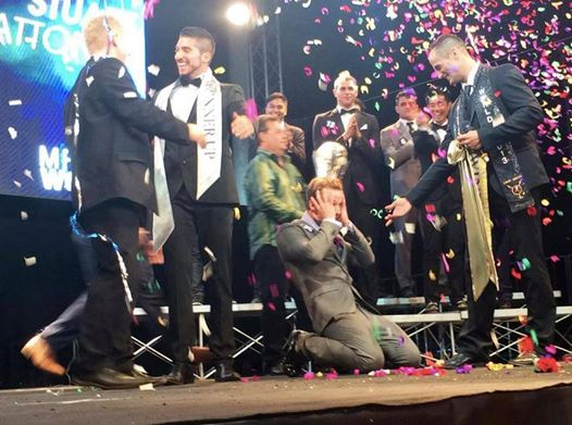Mr gay world 2014, il titolo di più bello va a Stuart Hatton