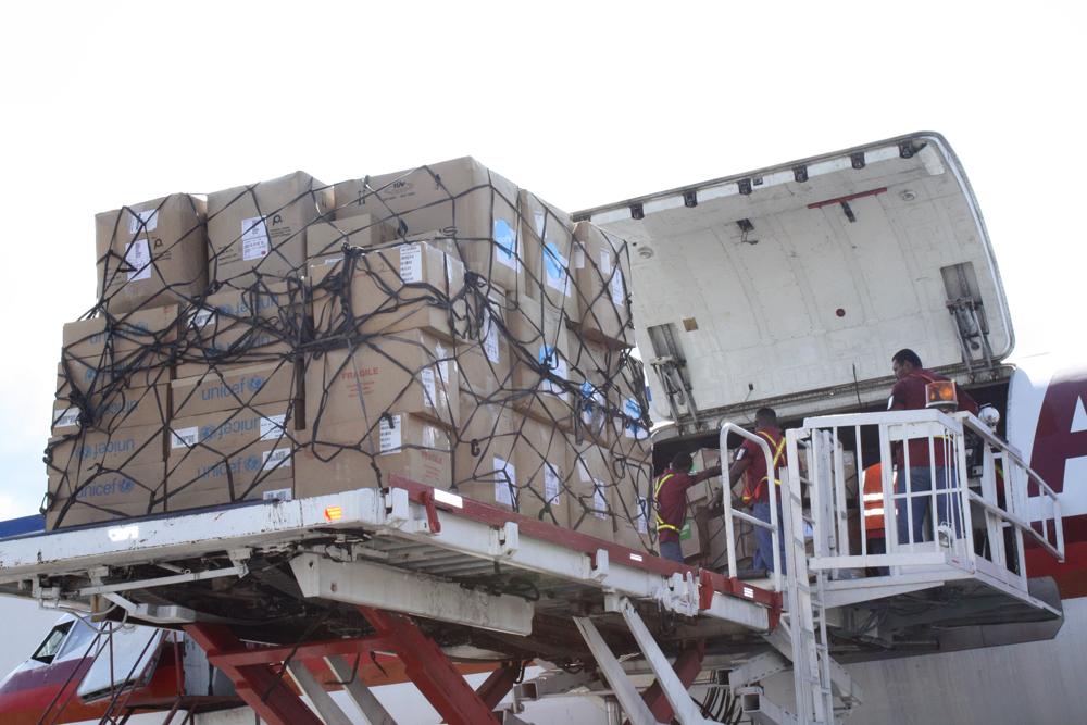 Farmaci e giochi: da Roma a Gaza, un container rosso per aiutare le vittime della guerra