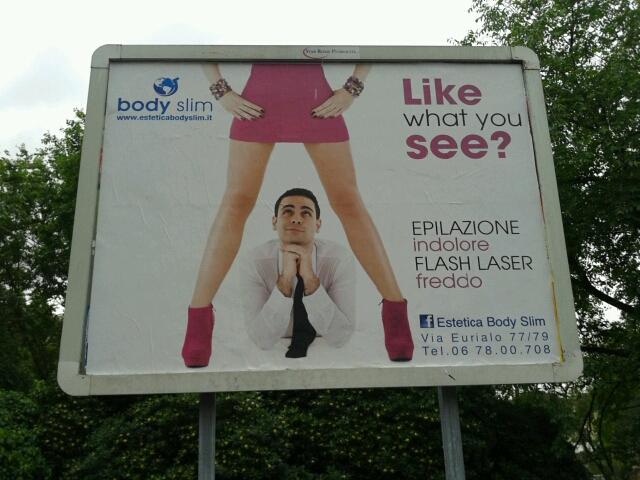 Cartelloni, addio a pubblicità che usano il corpo delle donne. Marino: