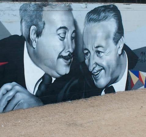 Falcone e Borsellino diventano un murales da record a Cisterna di Latina