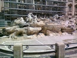 Fontana di Trevi,