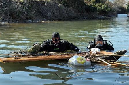 Cassino, recuperato cadavere dal fiume Gari: indagini in corso