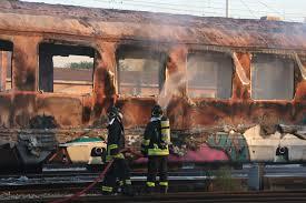 Civitavecchia, fiamme su un treno privato in galleria. Fs costretta a rallentare i suoi convogli