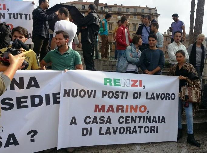 Tavolino selvaggio, Tor Millina chiude per protesta. I ristoratori in piazza contro Marino
