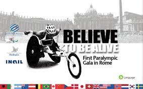 Believe to be alive, a Roma tre giorni per lo sport paralimpico