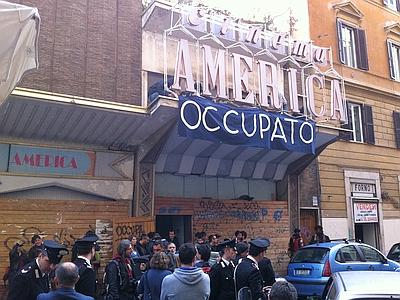 Cinema America, gli ex occupanti: