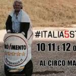 M5s, alla festa del Circo Massimo lo show di Grillo e tanti spazi vuoti