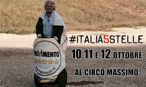 M5s, Grillo in versione Ben-Hur per il raduno del Circo Massimo: servono i fondi