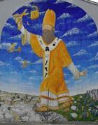 Il murale a San Basilio
