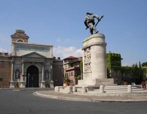 Porta Pia, 144 anni dalla breccia per la presa della futura Capitale