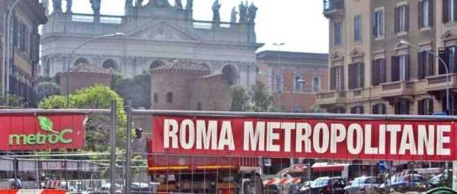 Metro C, scontro tra la società e Roma metropolitane: