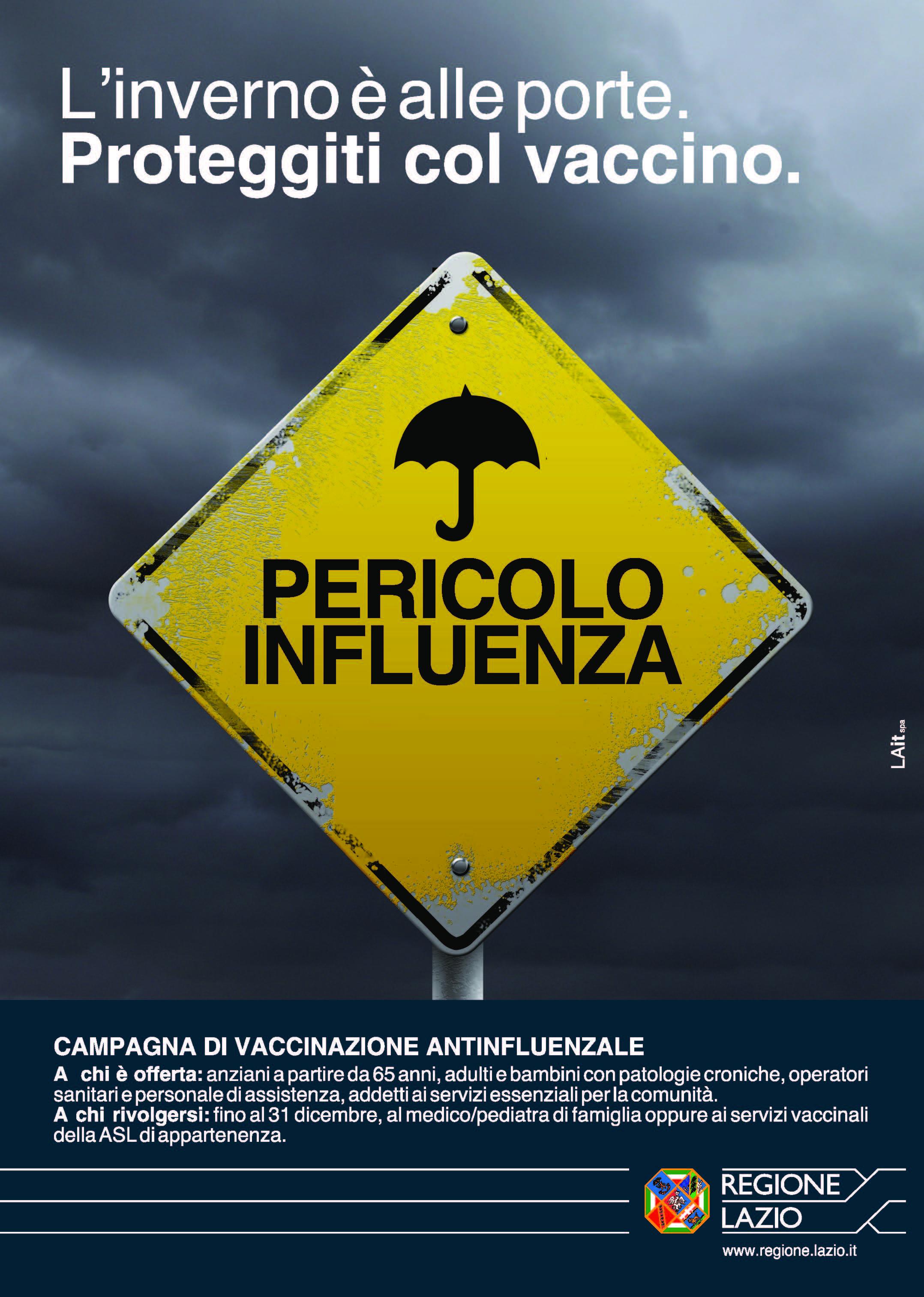 Influenza, Zingaretti: