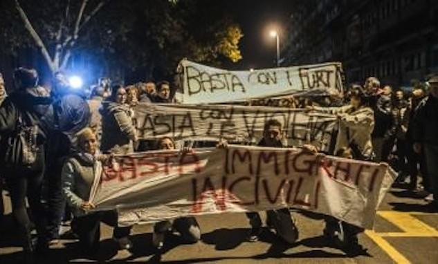 Protesta anti-immigrati, Marino a Tor Sapienza e Borghezio pensa di candidarsi a mini-sindaco